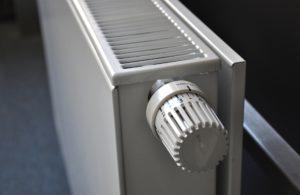 Calefacción por radiadores de agua de bajo consumo