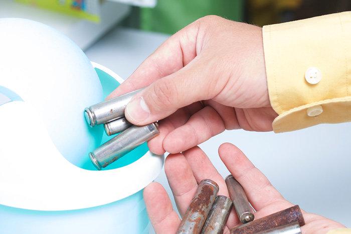 reciclar pilas y baterías