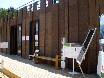 La sede central del evento de la Universidad Politécnica de Madrid (UPM)