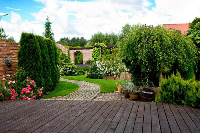organizar el jardín