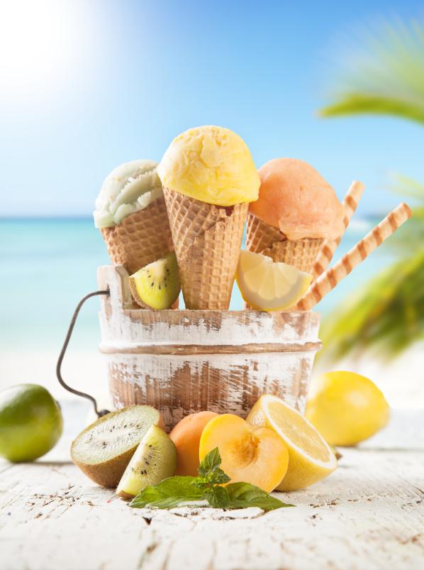 Helados para verano