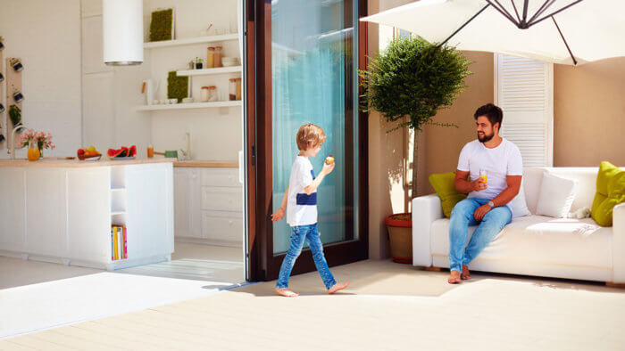puertas correderas en el hogar