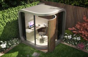 OfficePod: pon tu oficina en el jardín
