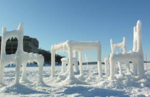 Aislamiento externo de la casa en invierno