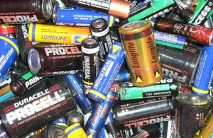 El reciclaje de pilas y baterías