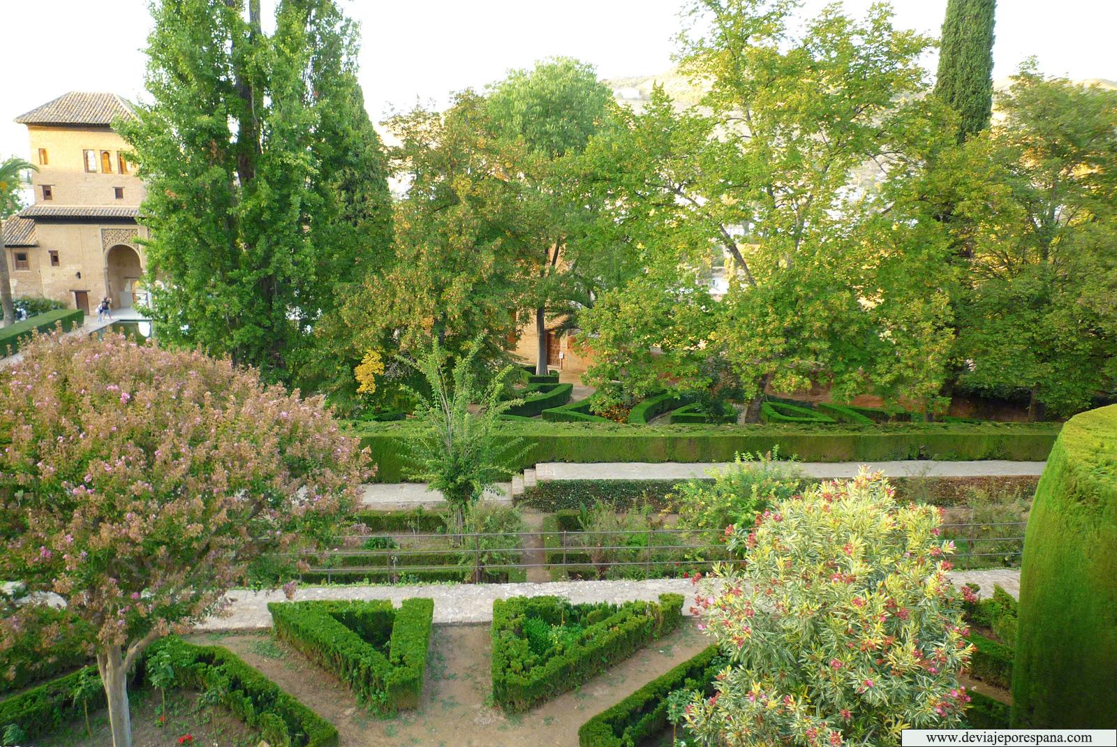 Jardines-de-Generalife