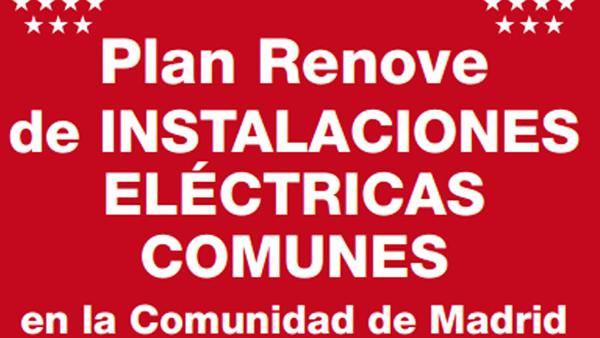 Plan Renove de Instalaciones Eléctricas Comunes 2013