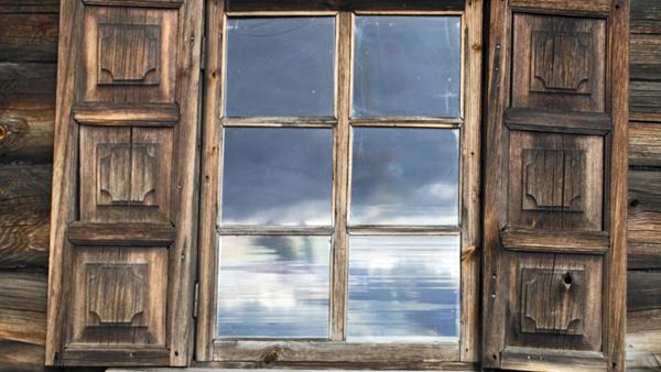 Ventanas de madera vivienda saludable for Como restaurar una puerta antigua de madera