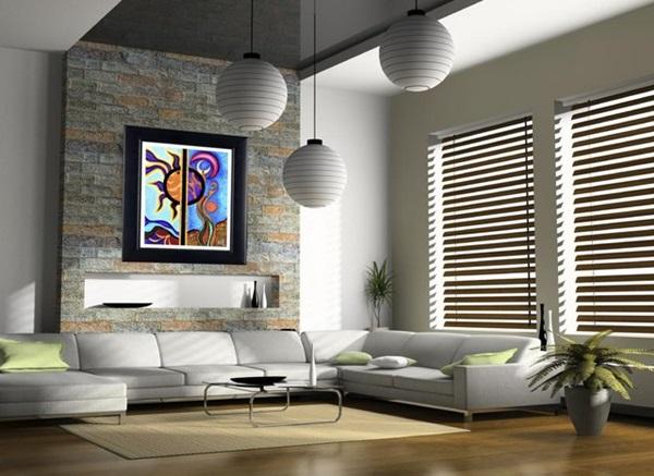 Tipos de revestimientos para tus paredes vivienda saludable - Revestimiento de paredes interiores en madera ...
