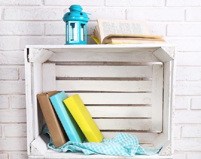 Caja estanteria decorar tu casa es - Cajas de fruta decoracion ...