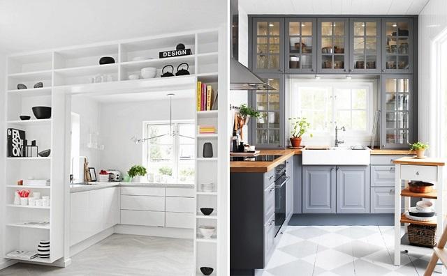 Aprovechar espacio en cocinas