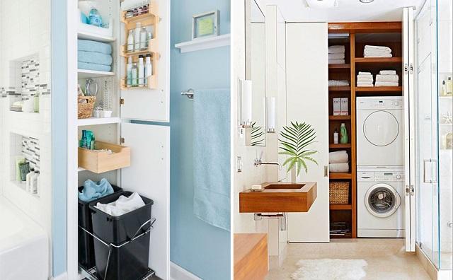 Aprovechar espacios baños