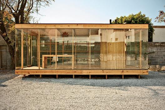 Casa de madera, proyecto S-AR estación de arquitectura en Monterrey