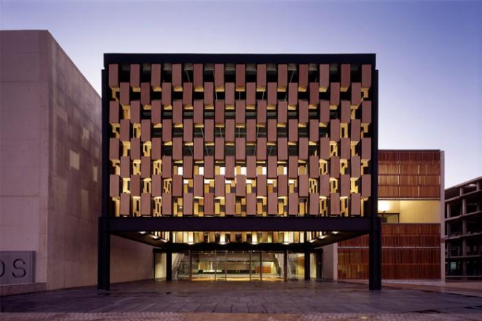 Celosía Palacio congresos Peñíscoola Cosas de Arquitectos