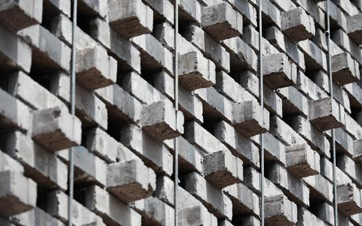 Celosía piedra Imagen Plaaforma Arquitectura interior