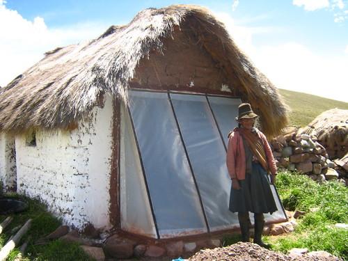 Eficiencia casa con muro trombre