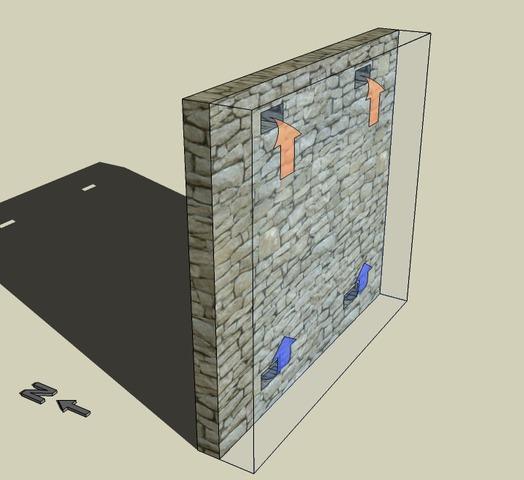 muro eficiente vivienda
