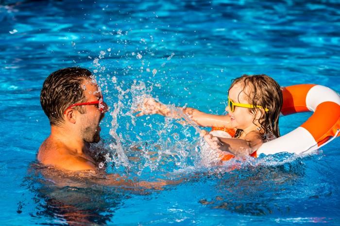 Protección niños verano