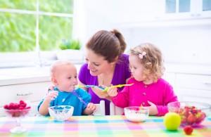 Enseñar hábitos saludables niños