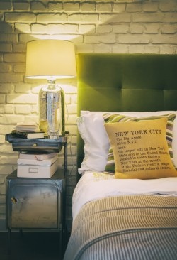 contemporary cozy bedroom