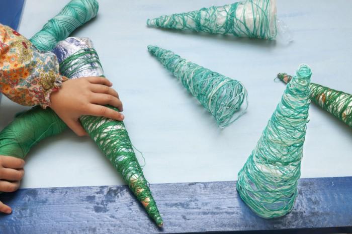 Navidad y reciclar