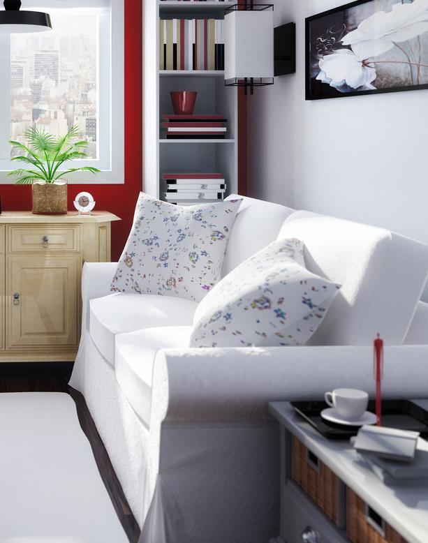 Mejora la distribución hogar pequeño