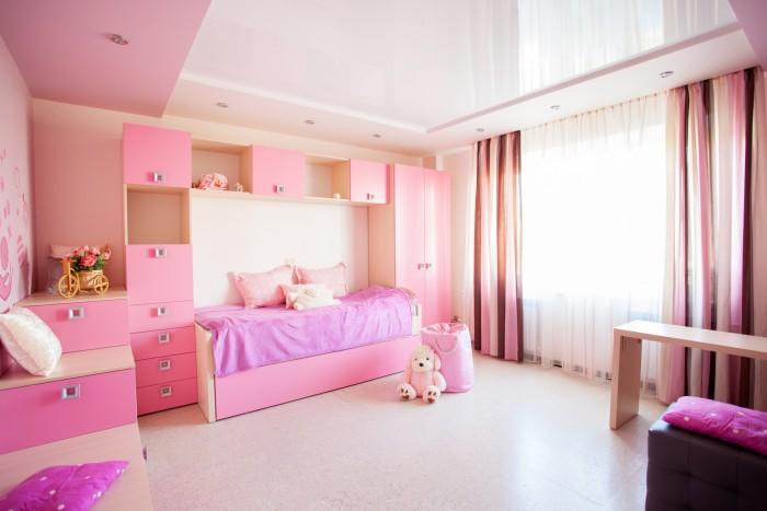 habitación niños hogar