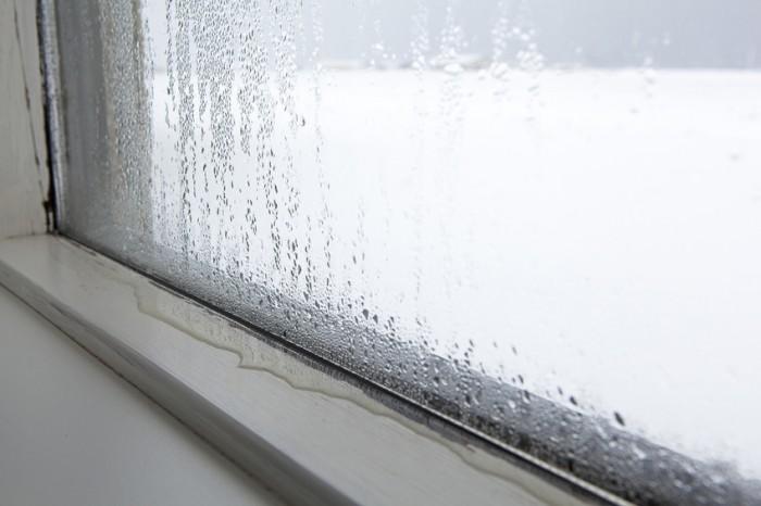 Condensacion por puentes térmicos