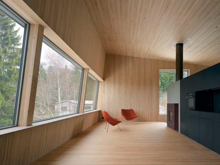 Interior vivienda pasiva
