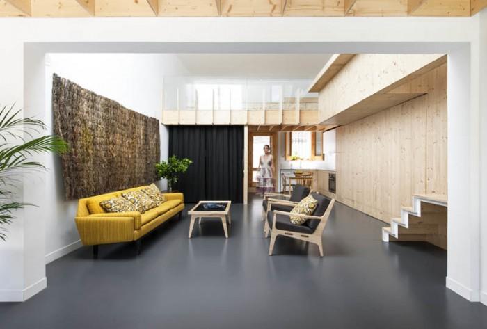 Salón vivienda eficiente