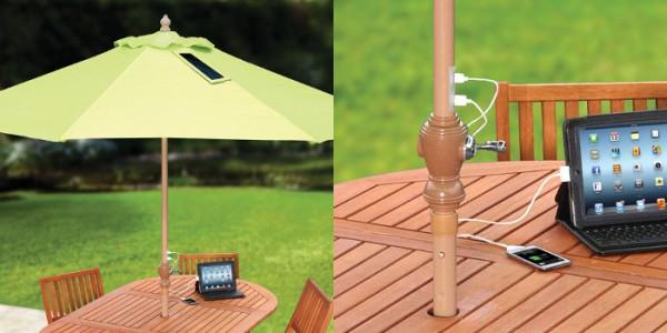 Sombrilla solar para el hogar