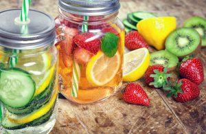 bebidas sanas verano