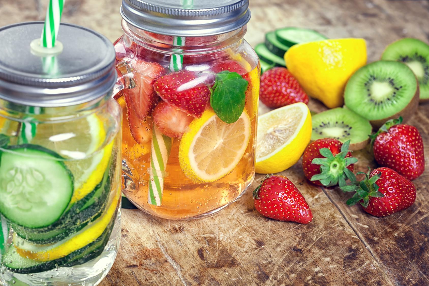 Resultado de imagen de bebidas saludables para el verano