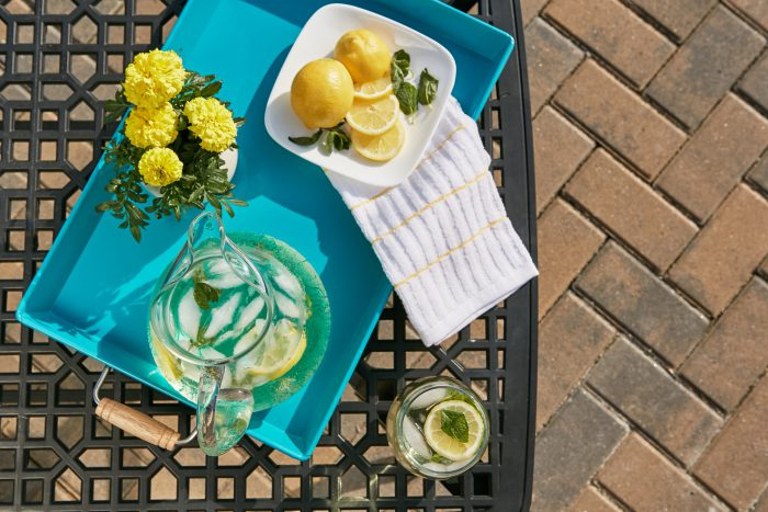 Agua sabores verano