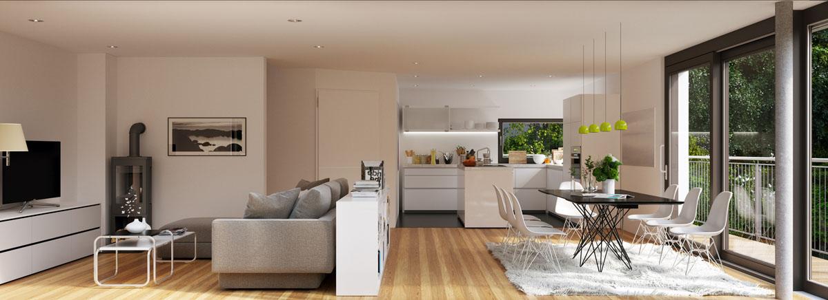 C mo separar ambientes en un loft vivienda saludable for Como separar ambientes
