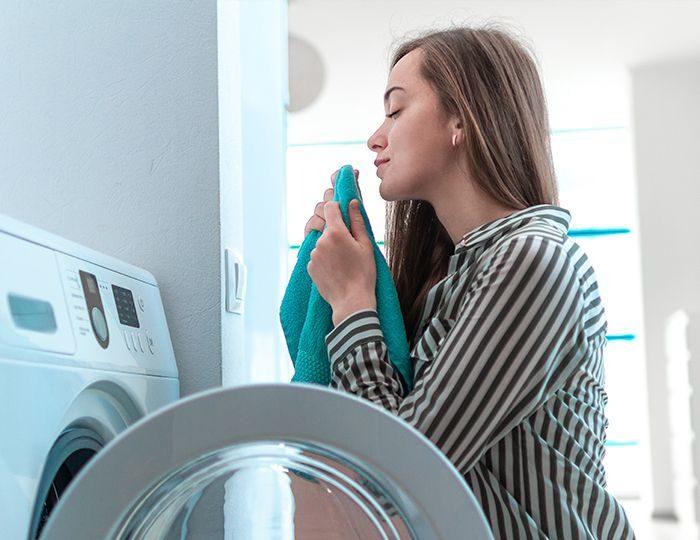 olores en la lavadora