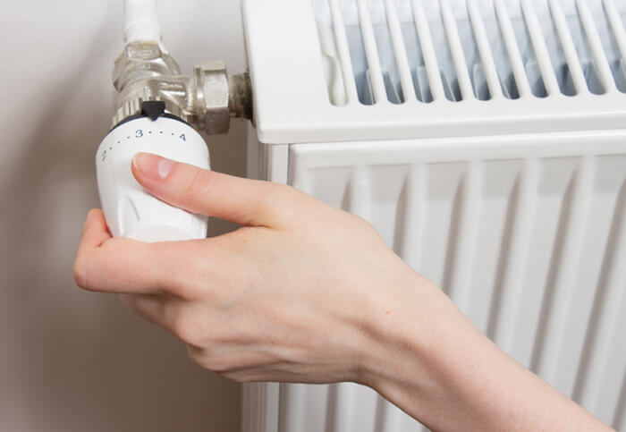 gasto en calefacción