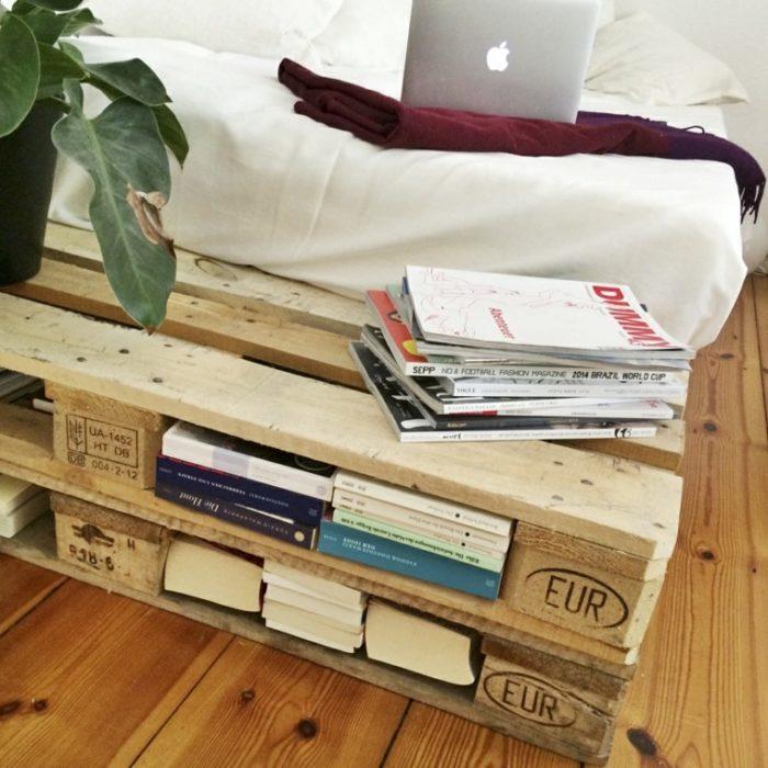 Imagen mueble con palés de Diseño y Casa.