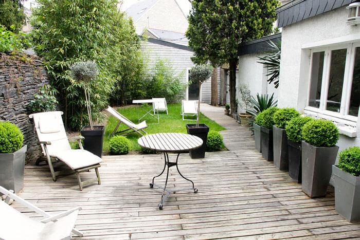 organizar la terraza