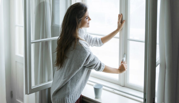 renovar el aire en casa