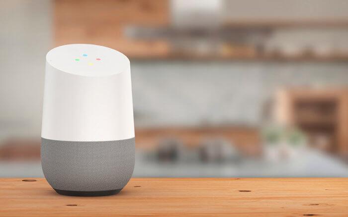 asistente virtual google home