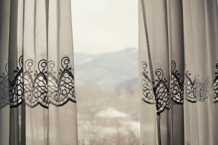 cortinas para el invierno