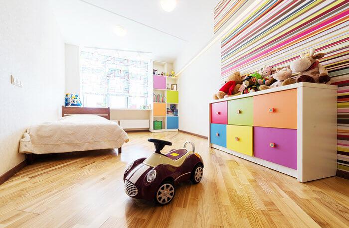 organizar una habitación con niños