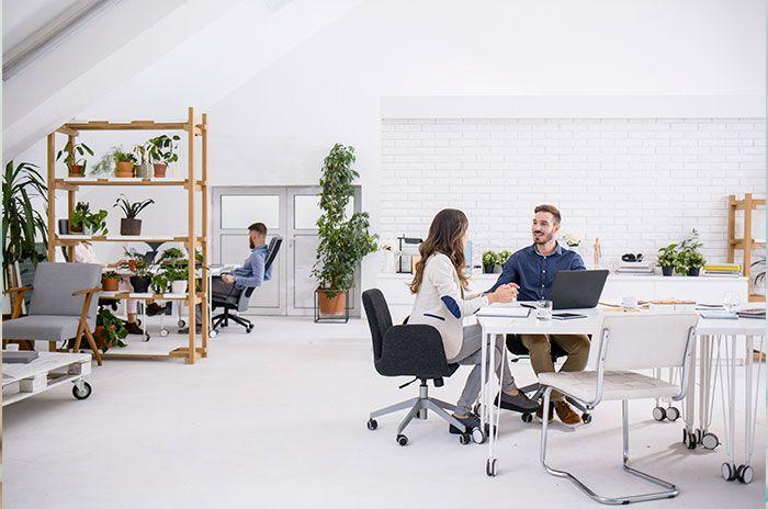 Beneficios de trabajar en una oficina con espacio abierto