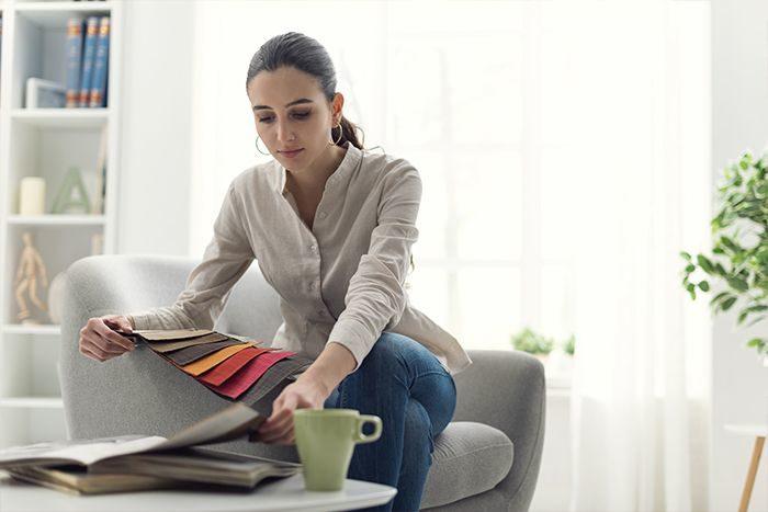 telas para decorar muebles