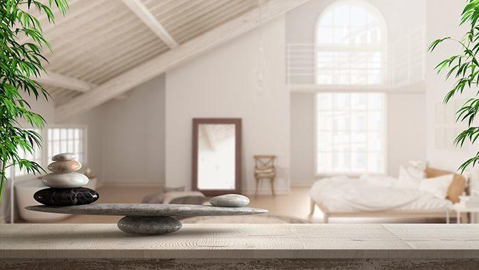 estilo feng shui en el dormitorio