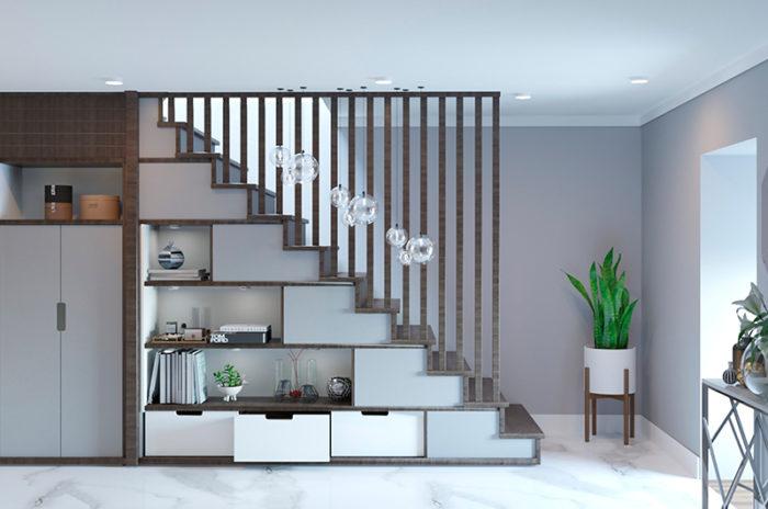 aprovechar espacios en las escaleras