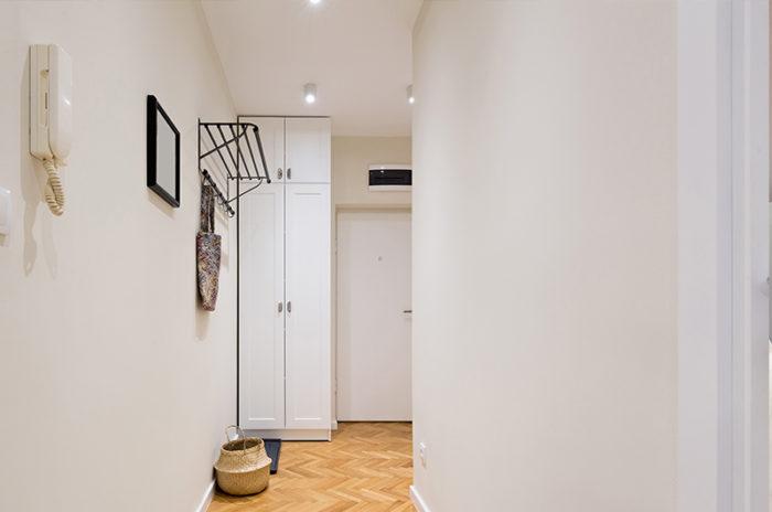 aprovechar espacio en los pasillos
