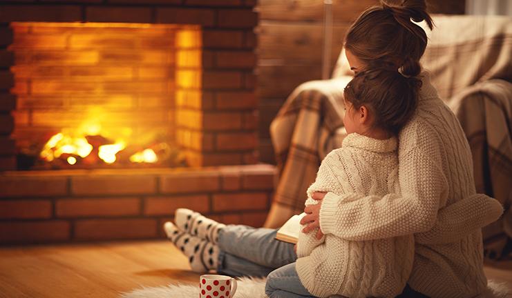 cómo calentar la casa en invierno
