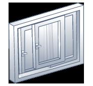 forma apertura corredera-elevadora